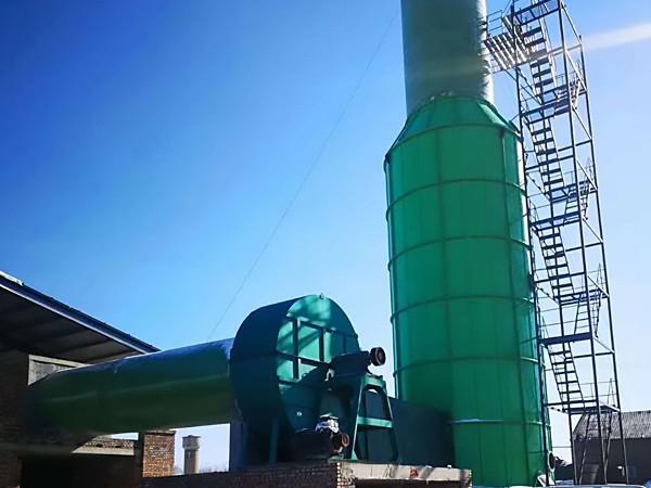 砖厂玻璃钢脱硫塔