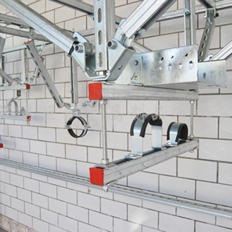 抗震支架厂家生产的抗震产品有无使用范围的要求