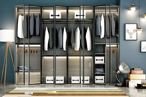 极简铝框衣柜