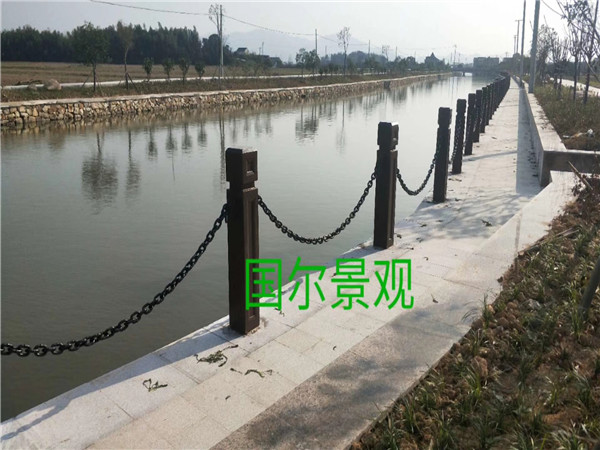 湖北铁链栏杆