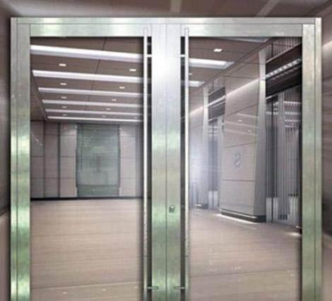玻璃防火门厂家304甲级不锈钢防火玻璃门能通过消防验收吗