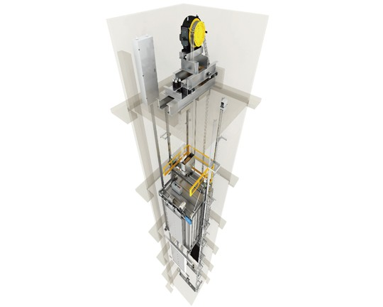小机房乘客电梯MD-K001