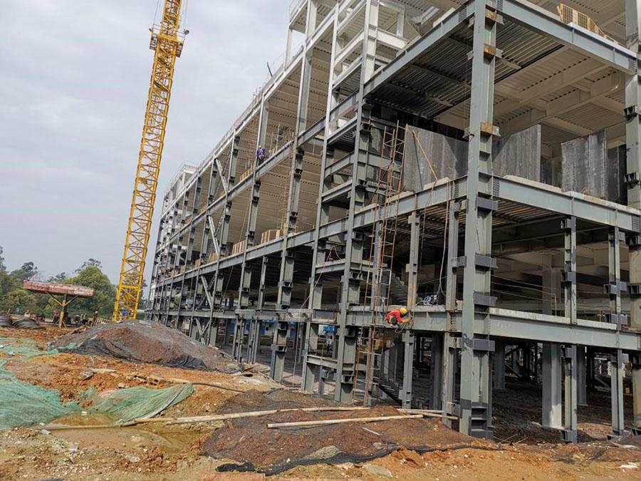 北部生態新區創業園 一 期B地塊B-3~B-7棟項目
