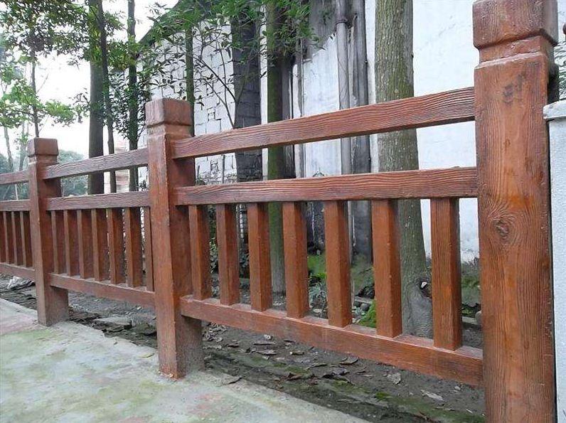 什么是仿木护栏