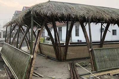 异形原竹建筑
