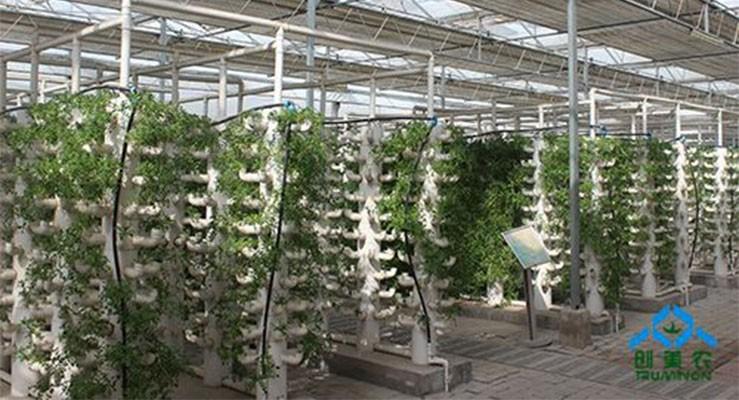智能连栋温室内部设备