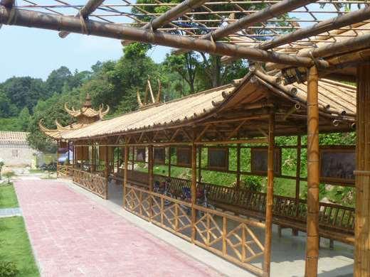 竹建筑绿色环保优势显著