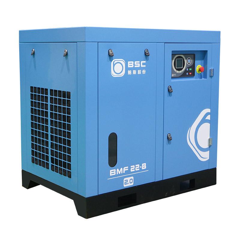 两级压缩空压机为什么排气量偏低