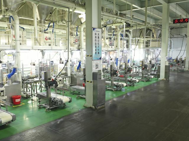 洗衣粉全自动生产加工车间
