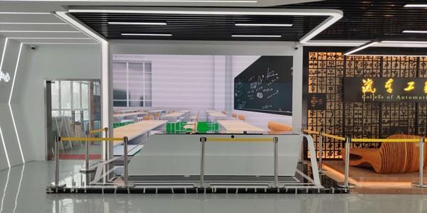 呼和浩特汽车展厅液晶拼接屏