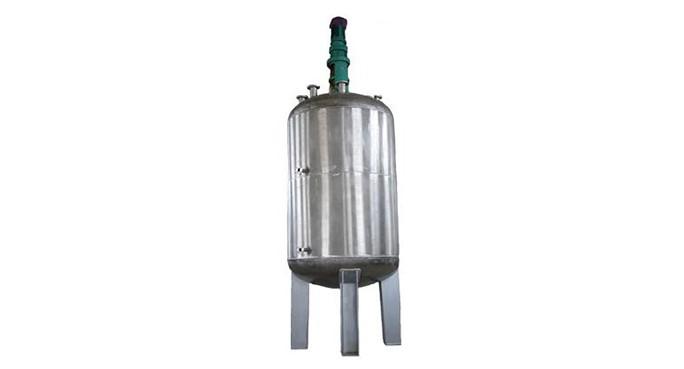 Type of reactor stirring blade