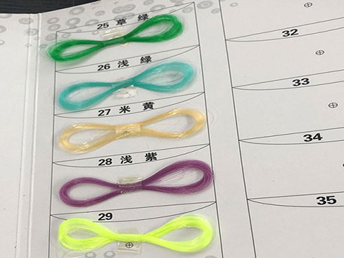 彩色环保渔丝线