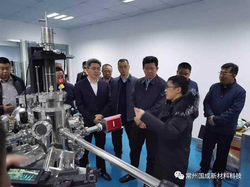 北京市怀柔区区长于庆丰、常州市副市长梁一波到我司调研