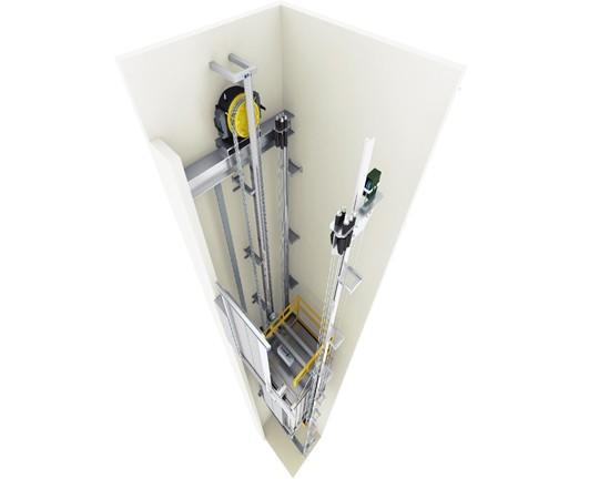 无机房乘客电梯MD-K005
