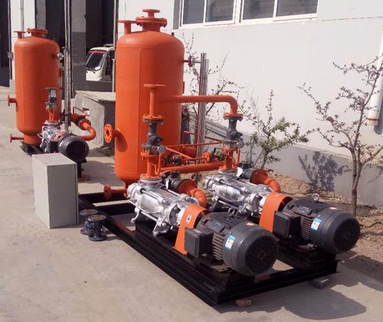 蒸汽冷凝水回收系统案例