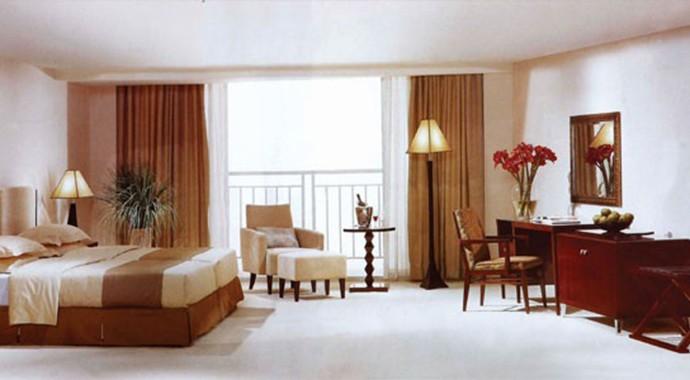 酒店现代风桌椅家具