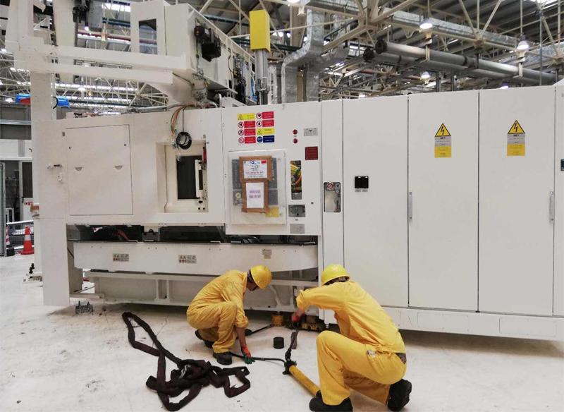 大型汽油桶中央空调机电安装改造