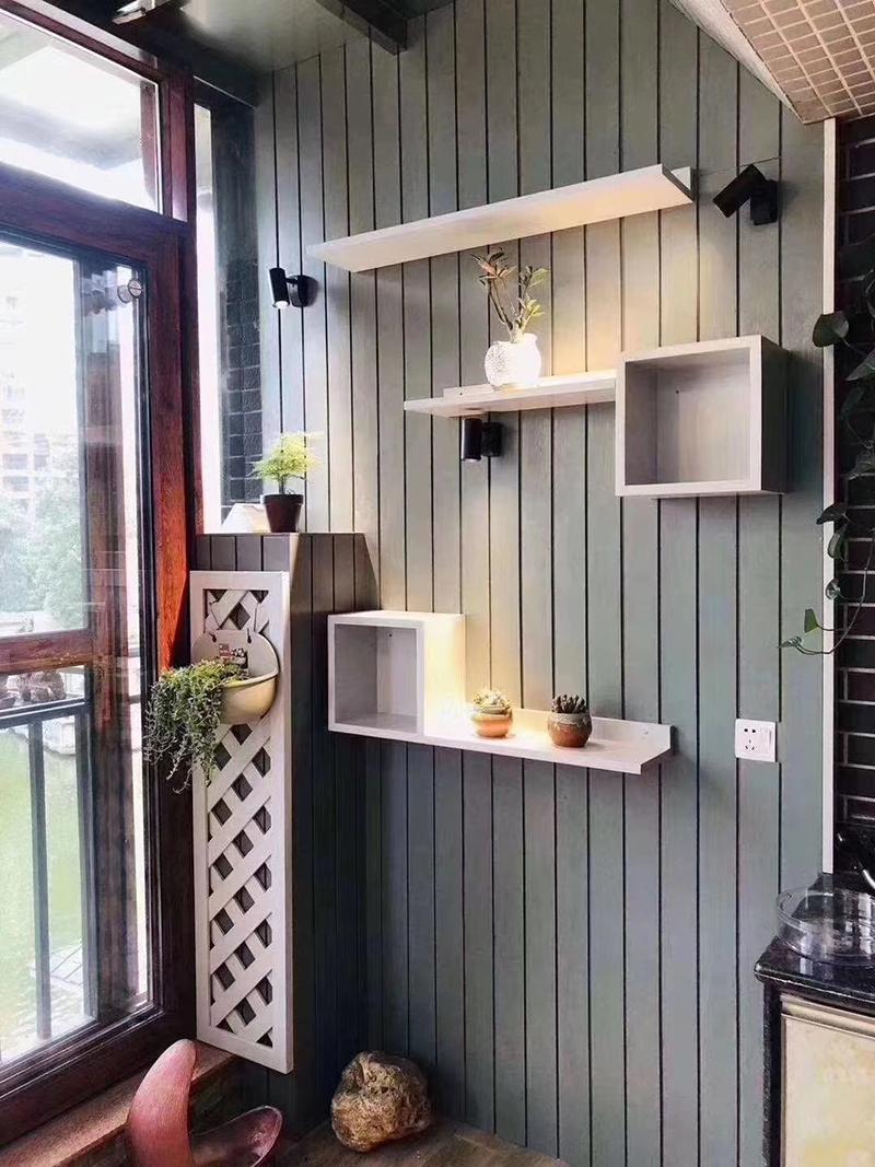 阳台防腐木