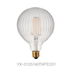异形LED 灯丝灯 G125直条纹(外)