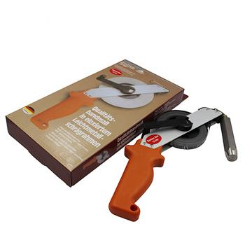 用测深仪测量油尺测量油尺高度的步骤