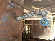 零堵式煤气流量计在线安装