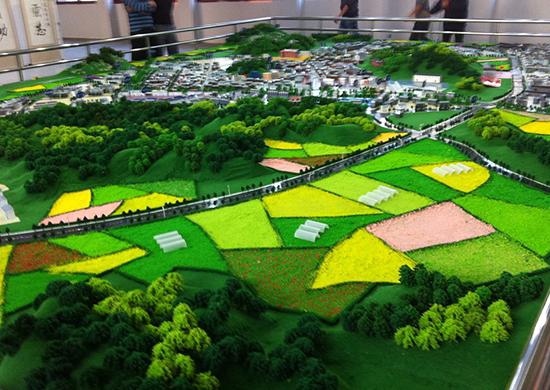 農旅園區模型