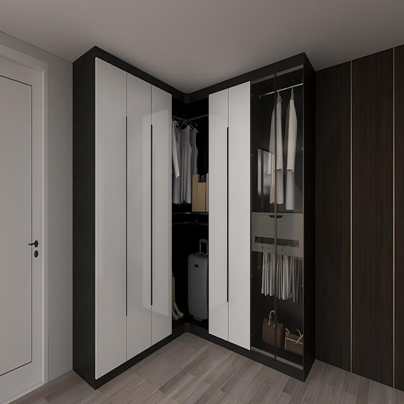 黑色大气经典衣柜