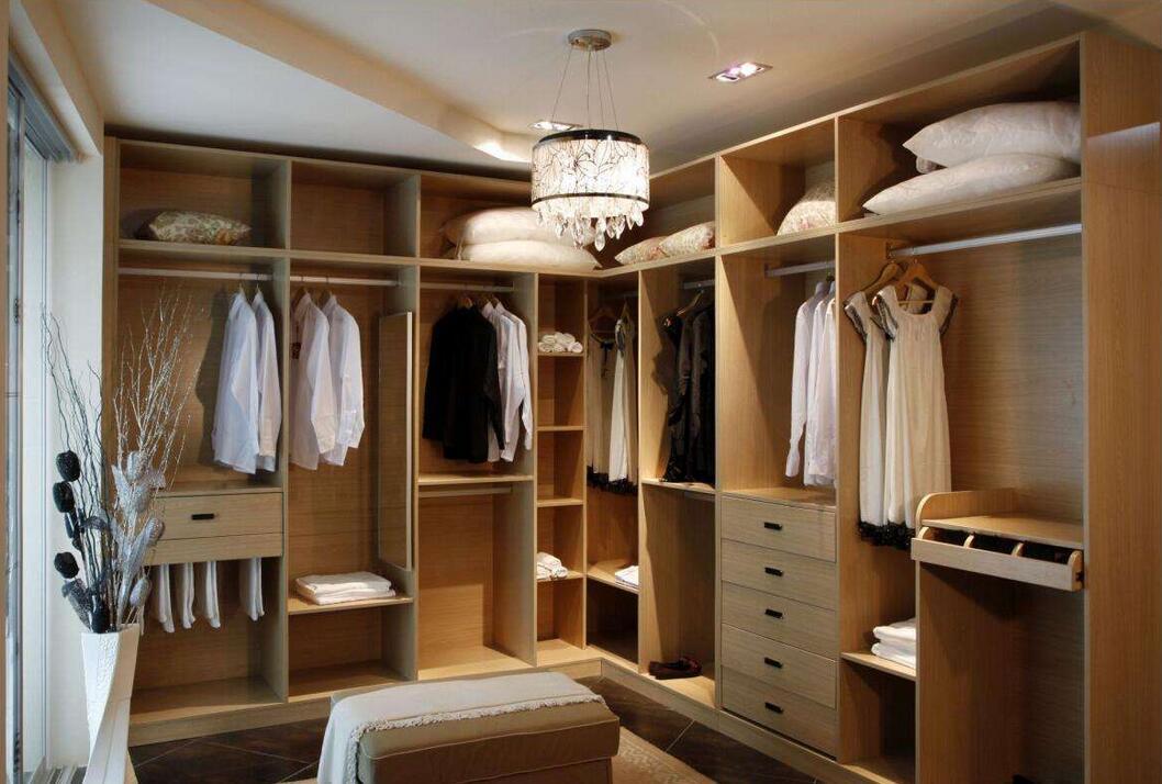 包头定制衣柜有几个区域