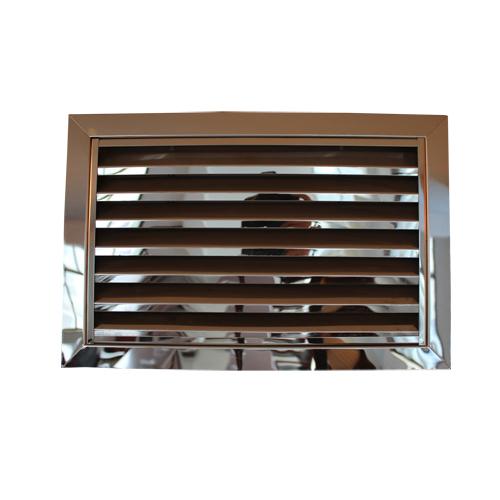 不锈钢防雨百叶窗口