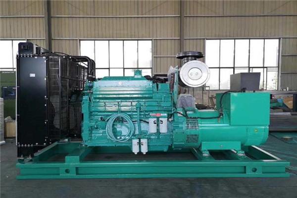 柴油发电机组机房排风设计方案安装