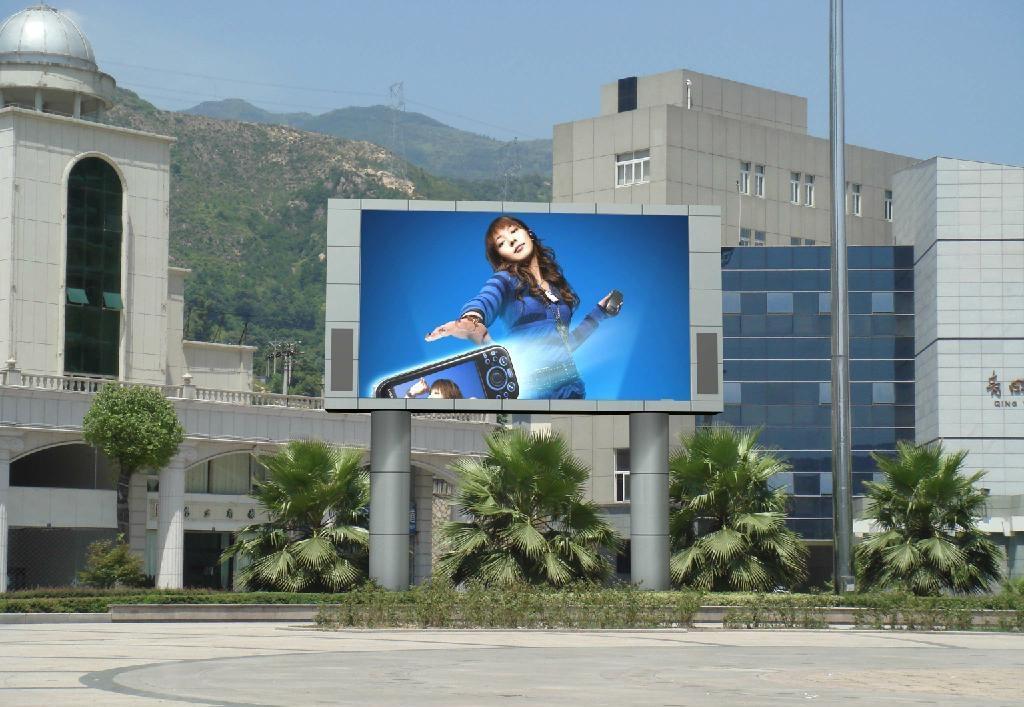 户外LED显示屏的广告优势特点