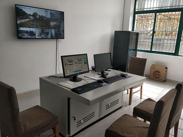 现代化检测控制一体室