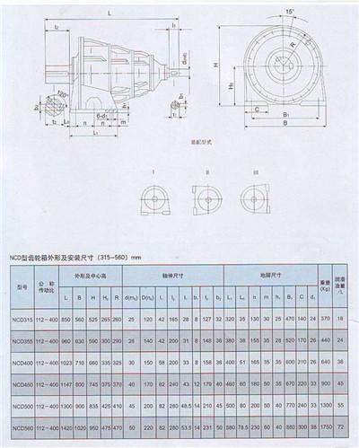 NCD型行星减速机