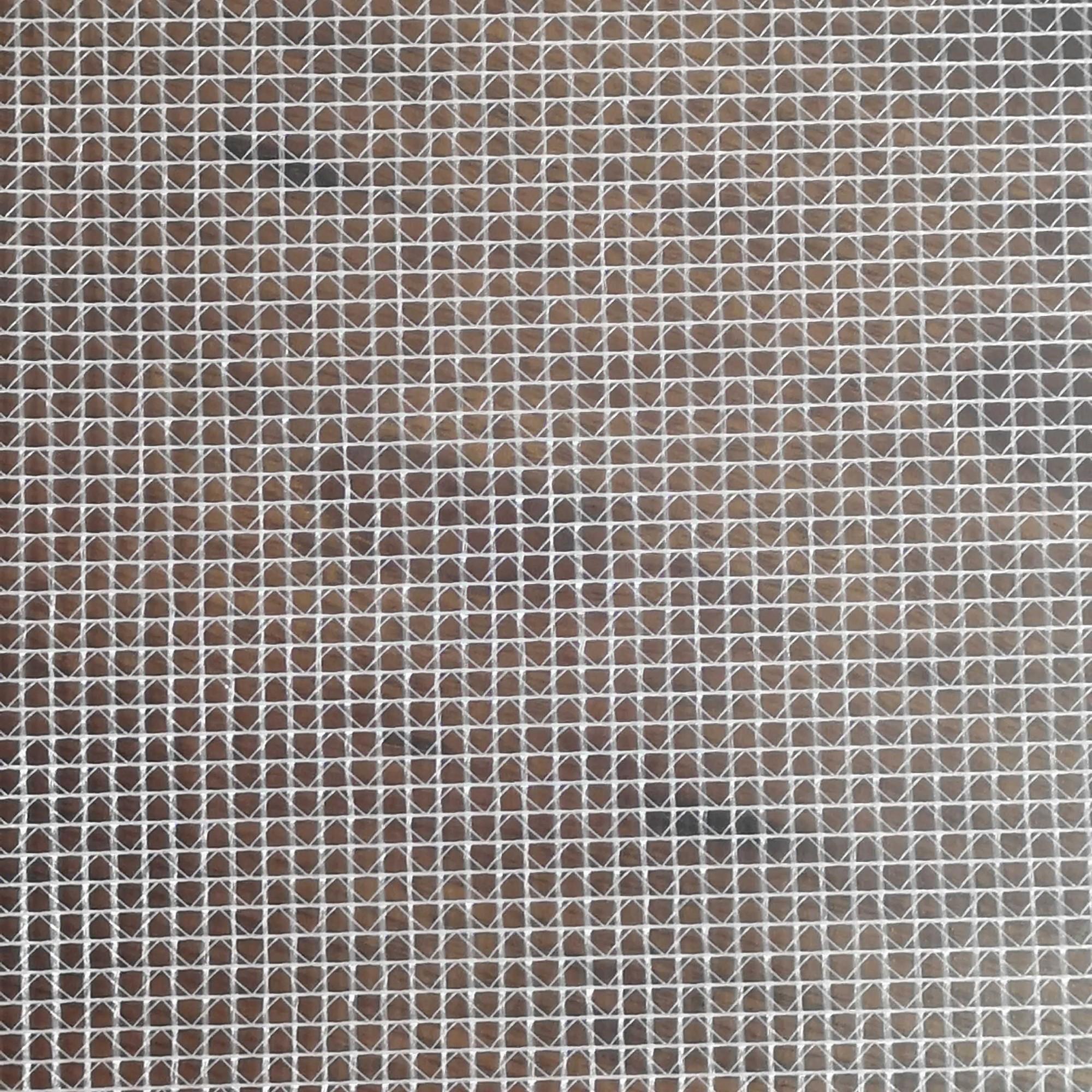 透明夹网布