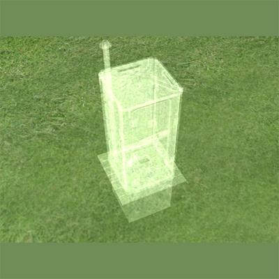 动画制作,三维动画(环保免水冲新农村建设实用卫生间)制作完成