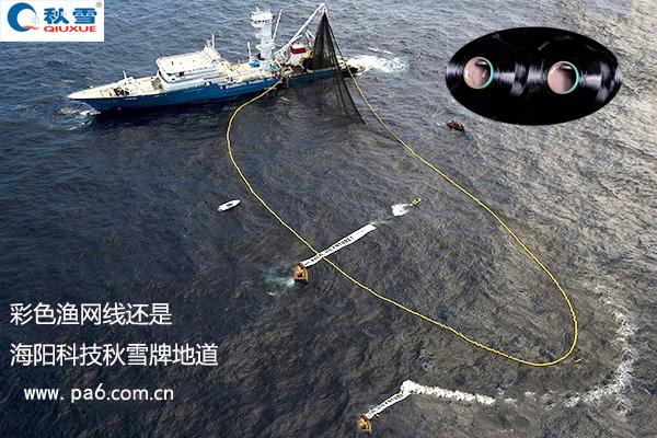 海阳科技金枪鱼捕捞围网为毛黑色的多?