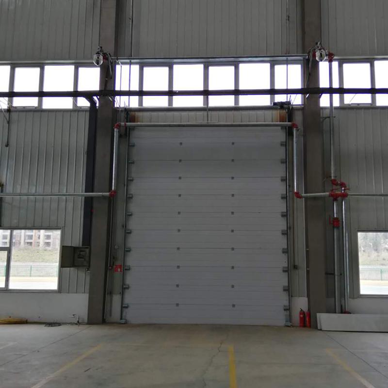 鄂尔多斯市顺丰中转站工业提升门案例