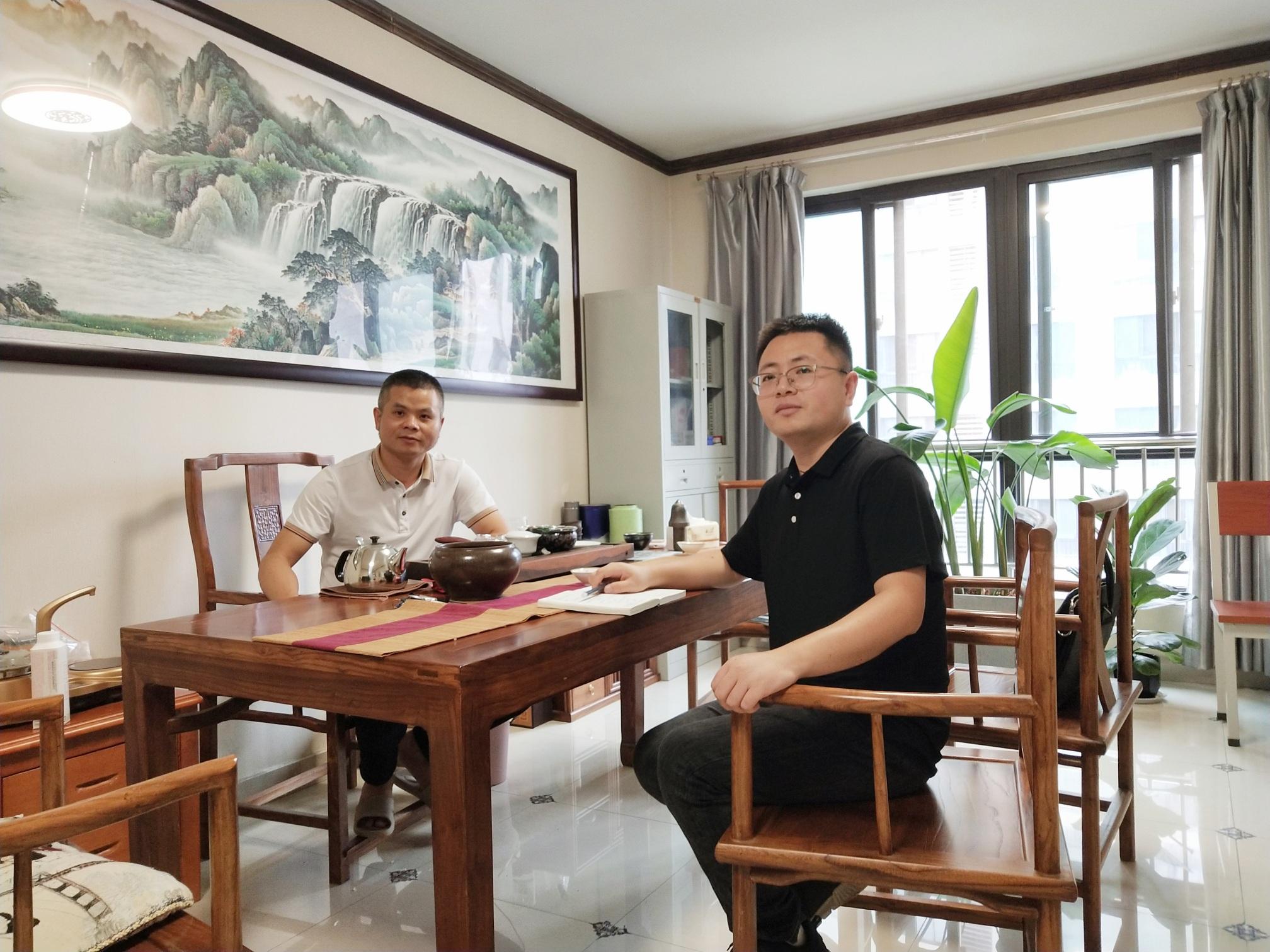 采访泉港商会理事陈建立先生
