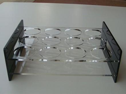 有机玻璃酒杯架定制