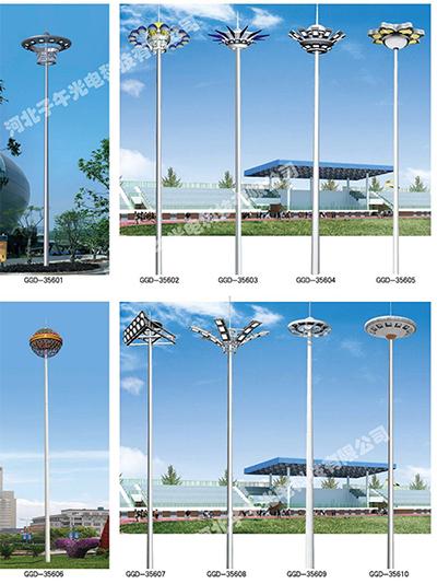 道路高杆灯构件安裝步骤详细介绍