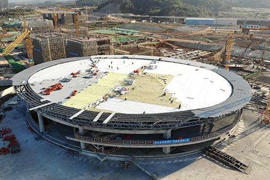 天正钢构广州中新知识城项目