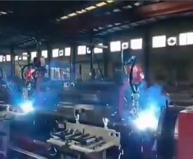 多机联动焊接
