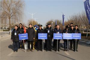 2019年西安阎良航空高技术产业基地突发环境事件应急演练照片