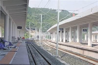 贵州省遵义茼江火车站