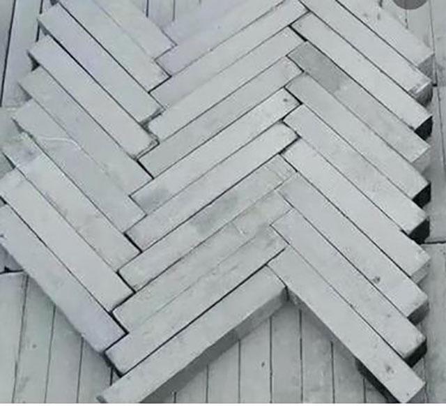 六面光切割纯黏土烧制95半砖