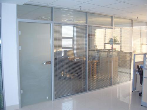 办公室隔断玻璃门