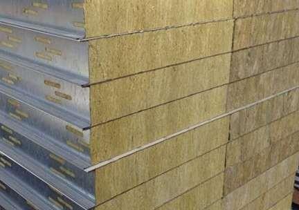 岩棉夹芯板的环保性
