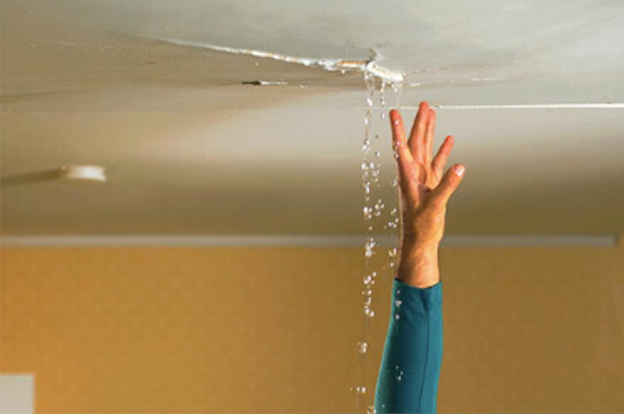 房屋屋顶漏水