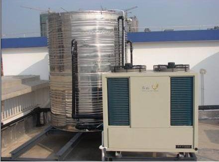 空气源热泵的工作原理