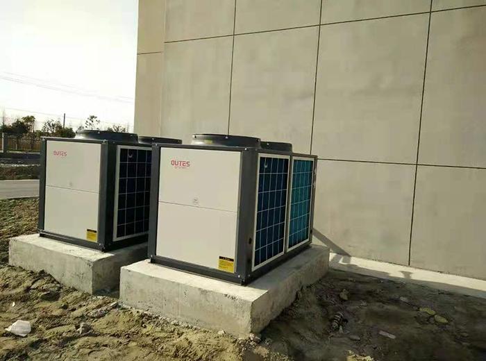 姜堰大唐发电厂空气能热水器系统工程案例